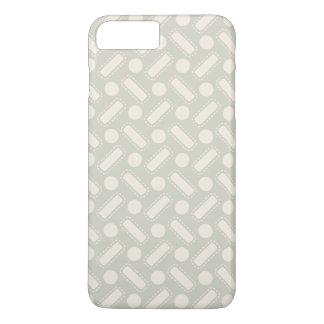 Squares and Circles Pattern iPhone 8 Plus/7 Plus Case