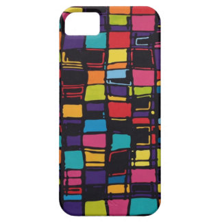 squares and color barely there iPhone 5 case