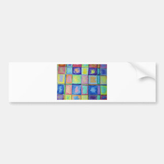 Squares Bumper Sticker