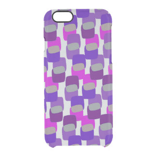 Squares Clear iPhone 6/6S Case