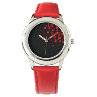 Squares Cool Geometric Vibrant Modern Bright Chic Watch