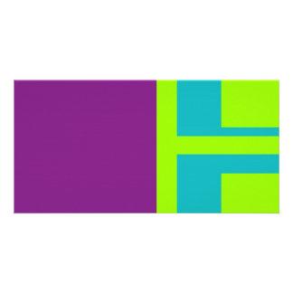 squares custom photo card