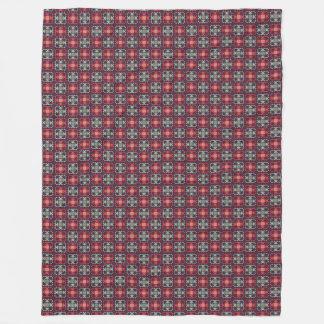 Squares Fleece Blanket