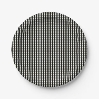 Squares Paper Plate