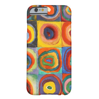Squares with Concentric Circles by Kandinsky Barely There iPhone 6 Case