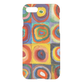 Squares with Concentric Circles by Kandinsky iPhone 7 Case