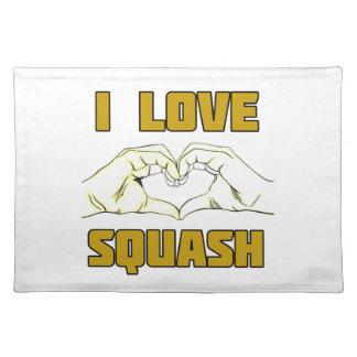 squash placemat