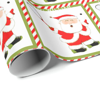 Squash Player Wrapping Paper
