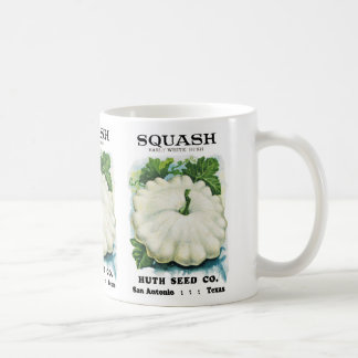 Squash Seed Packet Label Coffee Mug