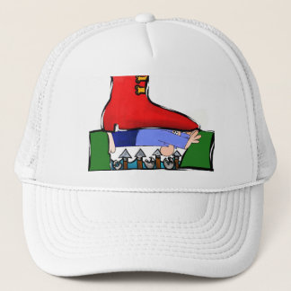 SQUASHED TRUCKER HAT