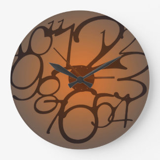 Squashed Wall Clock by Julie Everhart