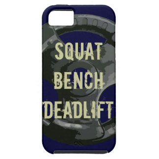 Squat Bench Deadlift iPhone 5 Covers