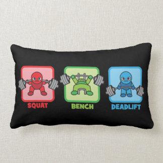 Squat, Bench Press, Deadlift - Kawaii Powerlifter Lumbar Cushion