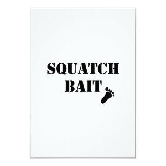 Squatch Bait 9 Cm X 13 Cm Invitation Card