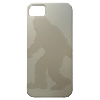 Squatch behind frosted glass case for the iPhone 5
