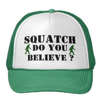 Squatch, Do you believe? Mesh Hat