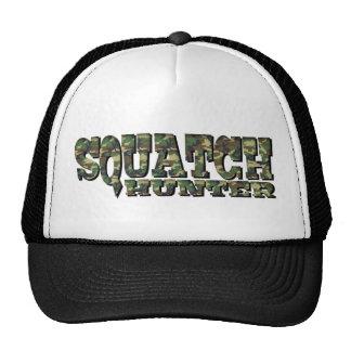 Squatch Hunter - Camo Pattern Cap