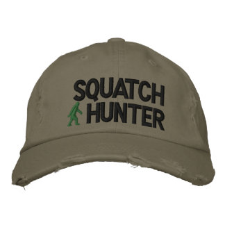 Squatch Hunter Embroidered Hat
