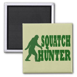 Squatch hunter magnet