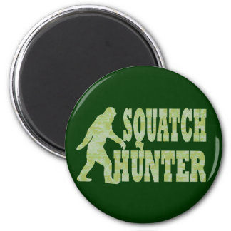 Squatch hunter on camouflage magnets