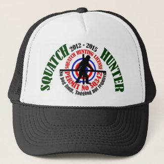 Squatch hunter trucker hat