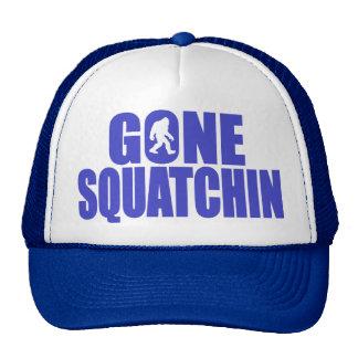 SQUATCH like a PRO in Bobo's GONE SQUATCHIN Trucker Hat