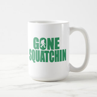 SQUATCH like a PRO in Bobo's GONE SQUATCHIN Mug