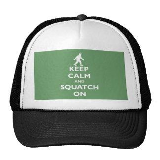 Squatch On Mesh Hat