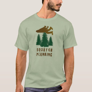 Squatch Planking T-Shirt