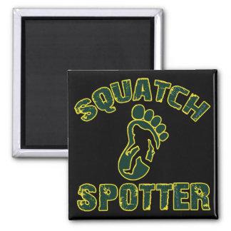 Squatch Spotter Square Magnet