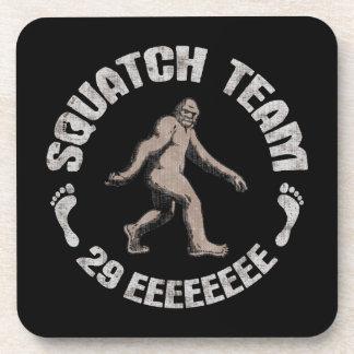 Squatch Team 29 EEEEEEEE Drink Coasters