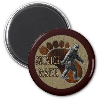 Squatch Watch 6 Cm Round Magnet