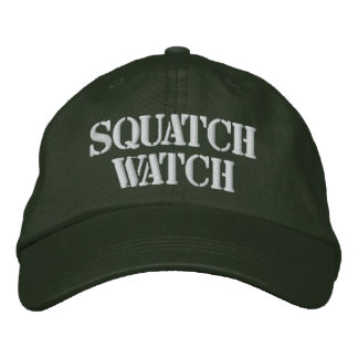 SQUATCH WATCH EMBROIDERED HAT