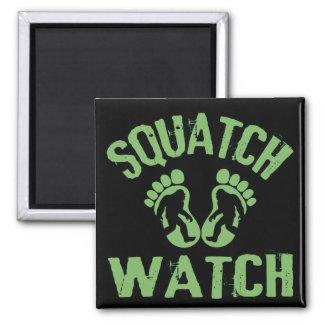 Squatch Watch Square Magnet