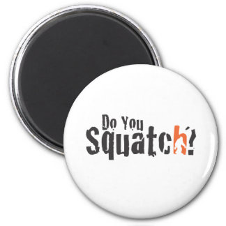 Squatch Wear and More 6 Cm Round Magnet