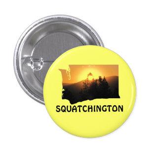 Squatchington Sunset 3 Cm Round Badge
