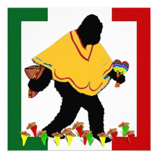 Squatcho  De Mayo Fiesta! Custom Announcements