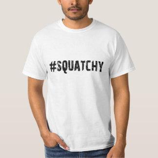 #SQUATCHY - Funny Keep it Squatchy Bigfoot Logo Tshirt