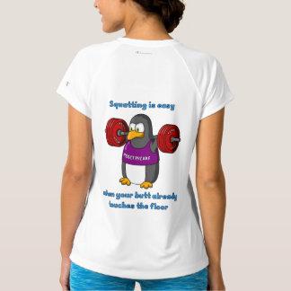 Squatter women's new balance t-shirt