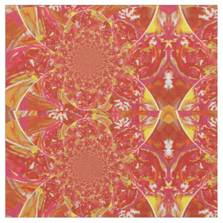 Squazzle Smudge Kaleidoscope A Fabric