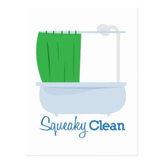 Squeaky Clean Postcard