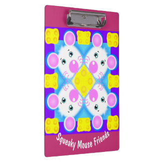 Squeaky Mouse Friends Clipboard