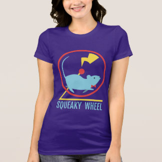 Squeaky Wheel Women's Dark Color Shirt