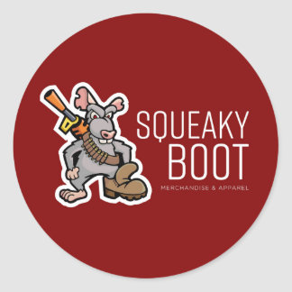 SqueakyBoot Illustration Merch Store Sticker