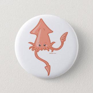 Squid 6 Cm Round Badge