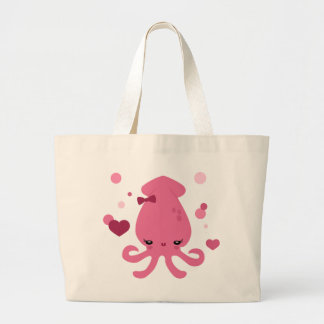Squid Cutie Jumbo Tote Bag