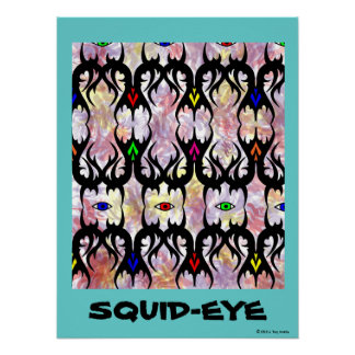 Squid-Eys Poster