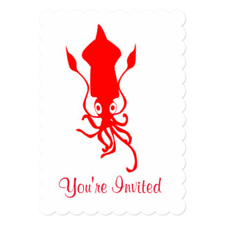Squid Invitation
