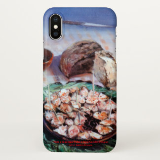 Squid to Gallego/Dust to feira/Galician octopus iPhone X Case