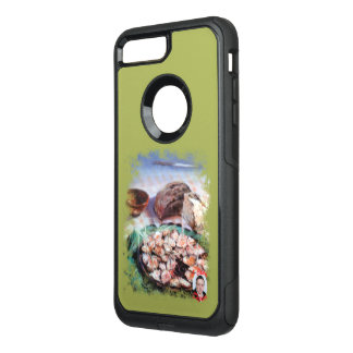 Squid to Gallego/Dust to feira/Galician octopus OtterBox Commuter iPhone 8 Plus/7 Plus Case